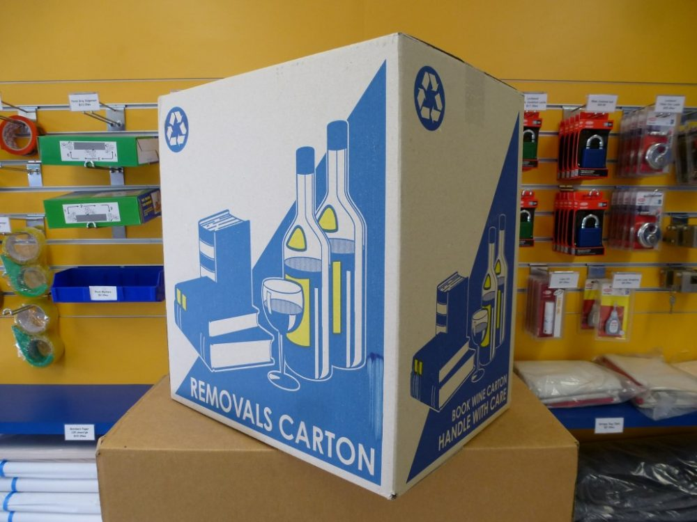 Melco Storage Book Wine Cartons
