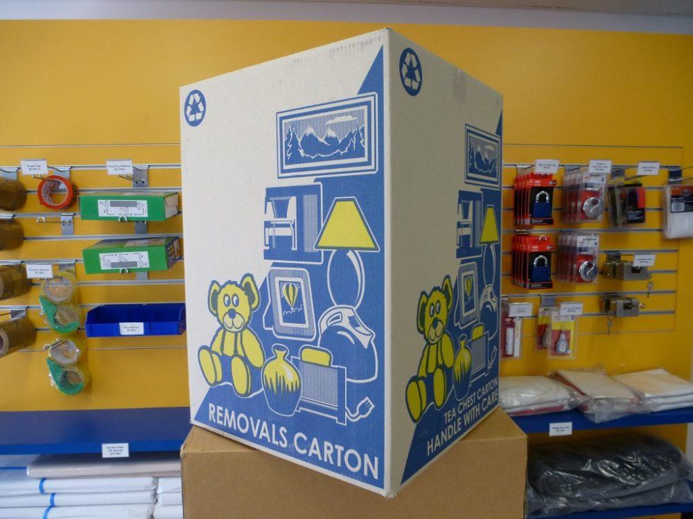 Melco Storage Tea-Chest Cartons